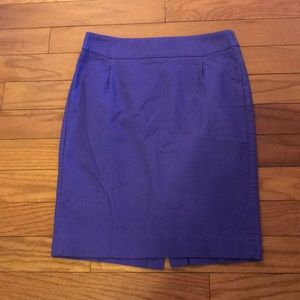 J. Crew Double Serge Pencil Skirt